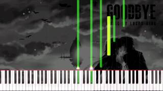 Emotional Piano Music - Goodbye | Synthesia Tutorial | Solo Piano