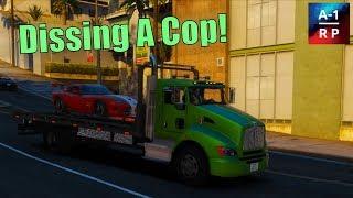 Towing Cop Cars!   A-1 RP   CIV #45 (FiveM Community)