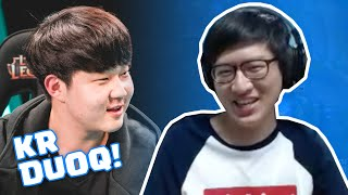 RUSH PLAYS WITH HUNI IN KR RANKED!