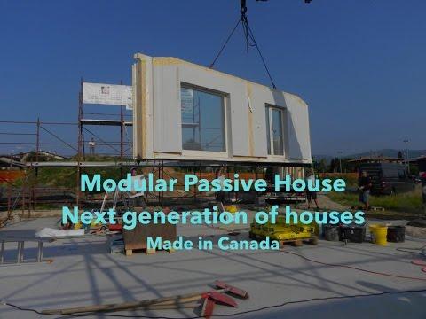 Modular Passive House In Canada