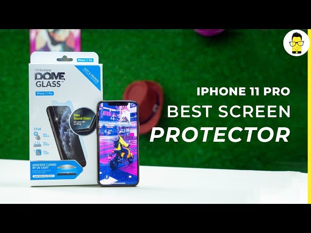 The best iPhone 11 Pro screen protector: installation and quick review