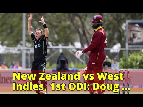 New Zealand vs West Indies, 1st ODI: Doug Bracewell helps Kiwis fly high against West Indies