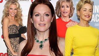 СТИЛЬ ЗА 50: ФОТО ЗВЕЗД. Самые Стильные Знаменитости. Celebrities Style, Fashion Women Over 50