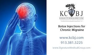 Botox Injections for Treatment of Chronic Migraine