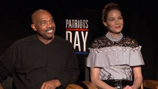 PATRIOTS DAY: Backstage with Michelle Monaghan & Michael Beach
