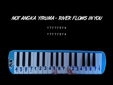 Not Pianika Yiruma - River Flows in You