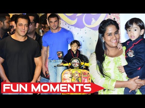 Salman's Nephew Ahil Sharma's Cute Moments At Loveratri Trailer Launch