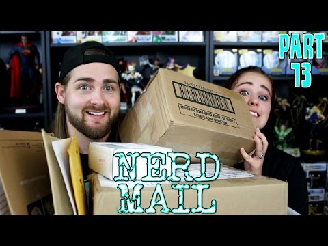 Nerd Mail Part 13 - Letters, Art, Pops, Personalized Comic