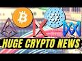 HUUGE CRYPTOCURRENCY NEWS  REN, Zilliqa, Binance, Monero, Tezos, Ripple  Bitcoin Halving