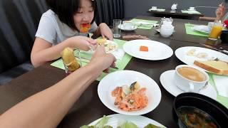 今天全家酒店早餐吃什麼?|The Westin Osaka Hotel