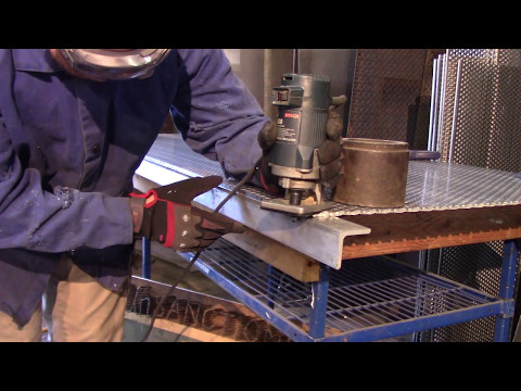 Wood Router On Thick Aluminum Sheet