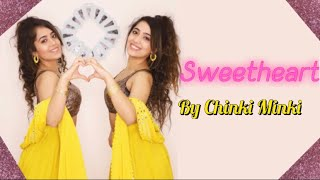 DANCE COVER ON SWEETHEART *Diwali Special* 😍| Chinki Minki