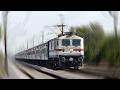WAP 7 powered JANSHATABDI EXPRESS - Indian Railways