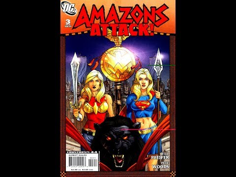 Amazons Attack! #3 (2007)  -Video Review-