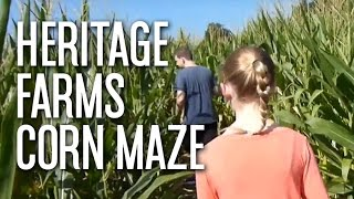 Corn Maze At Heritage Farms, Deland, Florida