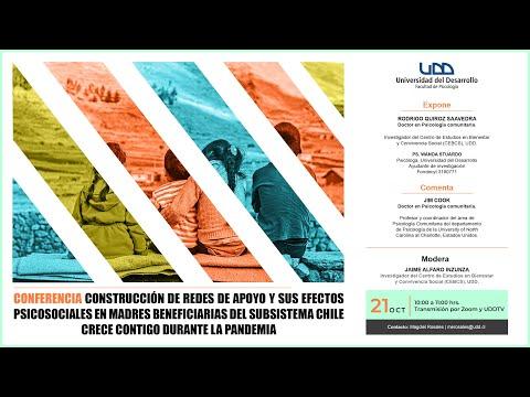 Conferencia | Construcción de redes de apoyo y sus efectos psicosociales en madres beneficiarias del subsistema Chile Crece Contigo durante la pandemia