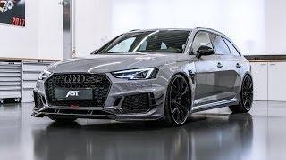 видео Тюнинг Audi RS4 Avant от ABT