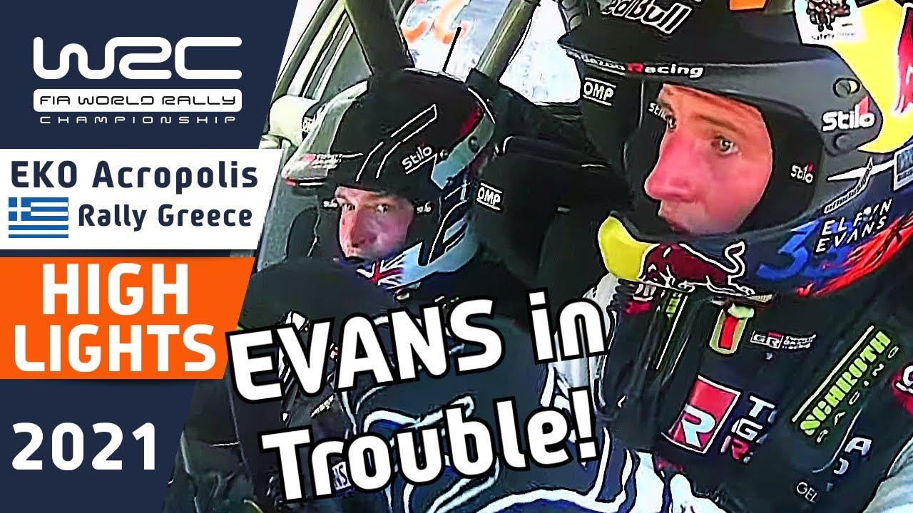 WRC Highlights Friday Morning : EKO Acropolis Rally Greece 2021