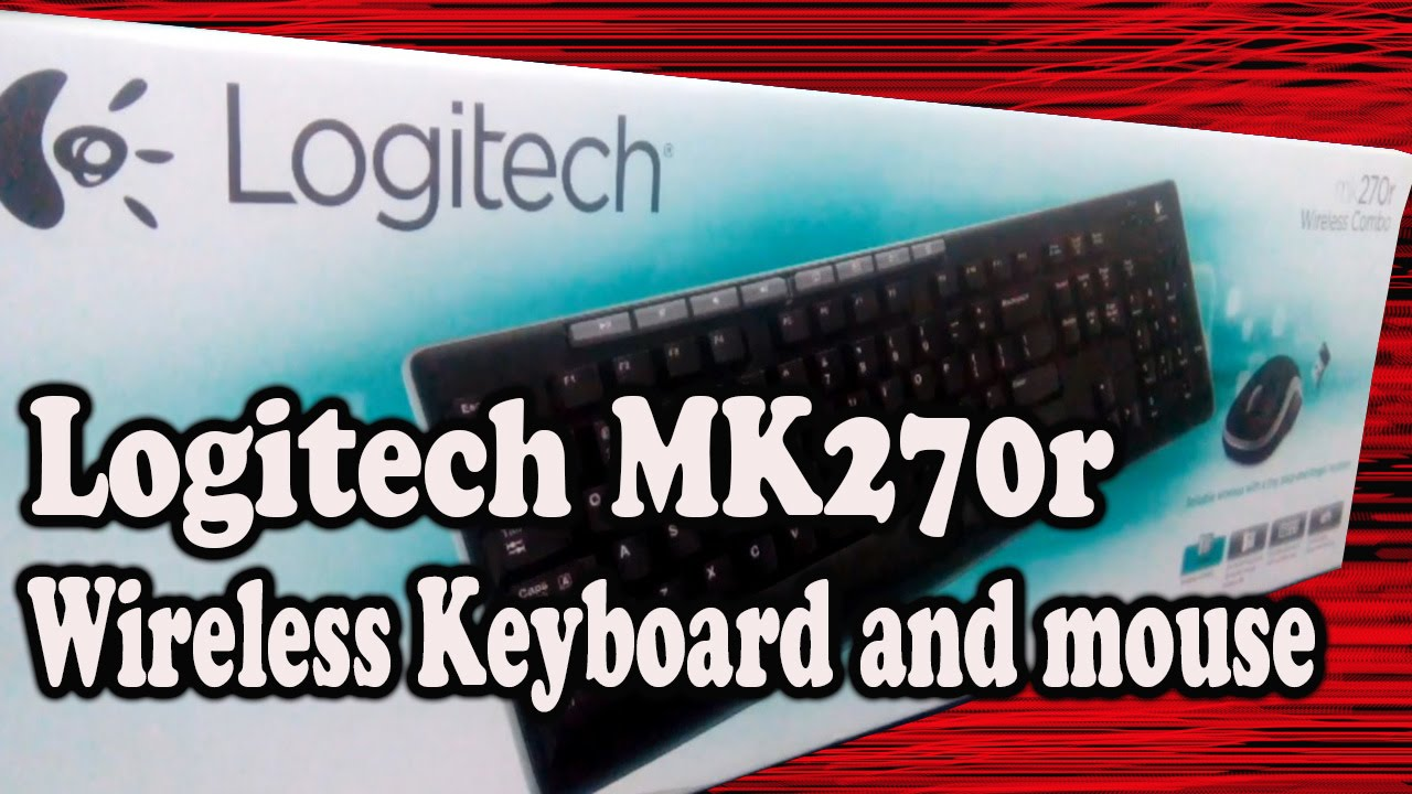 Logitech Mk270r Wireless Mouse And Keyboard Unboxing Pinoytube Combo Dan Youtube
