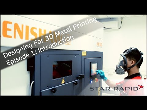 Episode 1: Introduction | Designing For 3D Metal Printing Tutorial