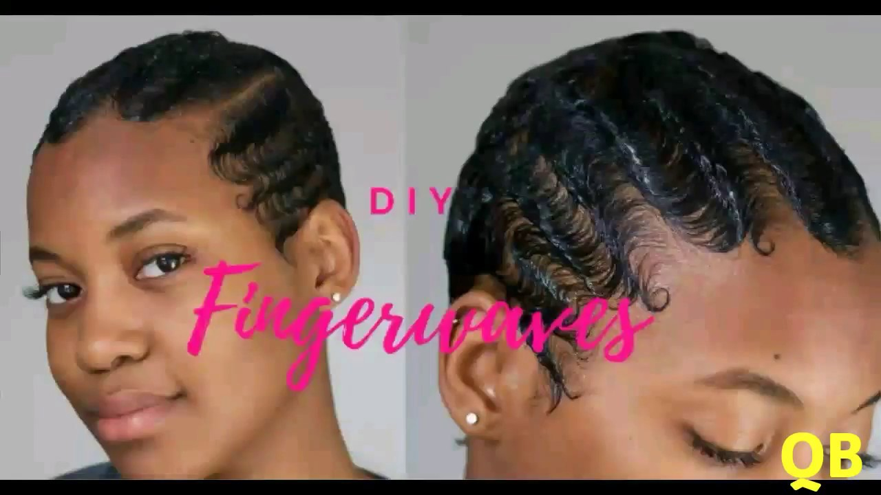 Short Hair Finger Wave Styles You