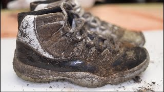 Download Cleaning The Dirtiest Jordan's Ever! $650 Air Jordan DMP 11's  Back to NEW! Mp3 and Videos