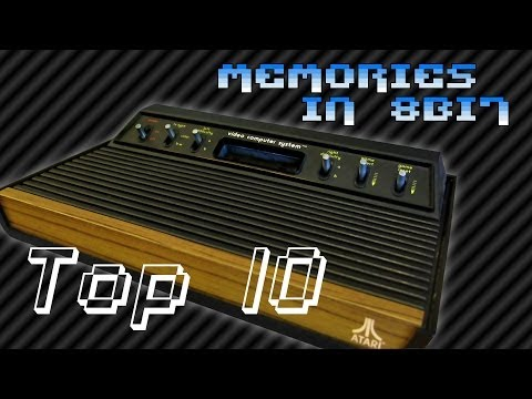 Top 10 Atari 2600 games | Memories in 8Bit