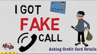Cradit card fake Call