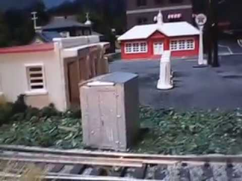 HO train layout Product review,,, cast molded resin