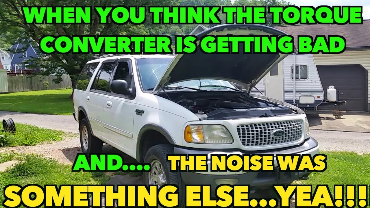 Ford Torque converter Bad sounds  I found the noise! Check if you have the  same noise!