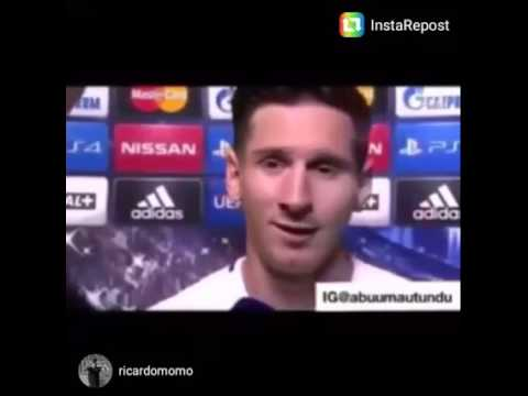 Lionel Messi post match interview ever in swahili