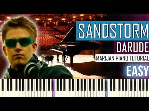 Darude - Sandstorm | But Played In A Beautiful Version | Piano Tutorial EASY