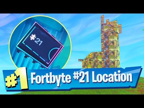Fortnite Fortbyte #21 Location - Found inside a Metal Llama building