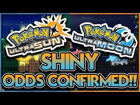 SHINY CHANCE CONFIRMED! Pokemon Ultra Sun And Moon Shiny Odds For SOS Method (Updated)