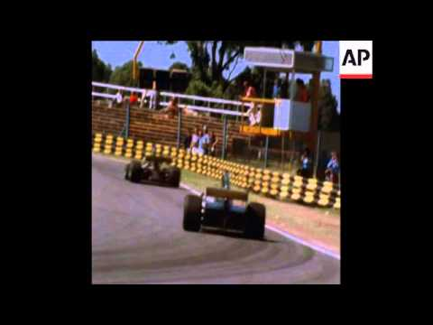 SYND 13-1-74 FIRST RACE OF THE ARGENTINA GRAND PRIX