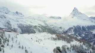 Zermatt, Switzerland and Matterhorn Summit Drone Video