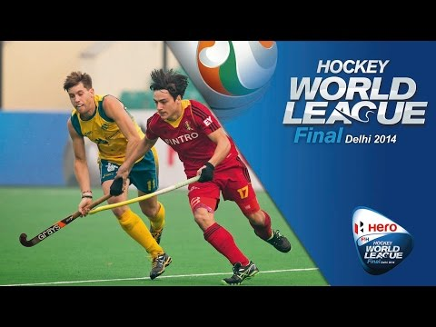 Australia vs Belgium - Men's Hero Hockey World League Final India Pool B [10/1/2014]