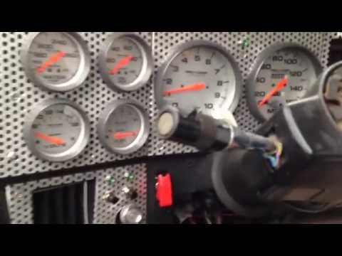 Truck Custom Dash - GEB Built -