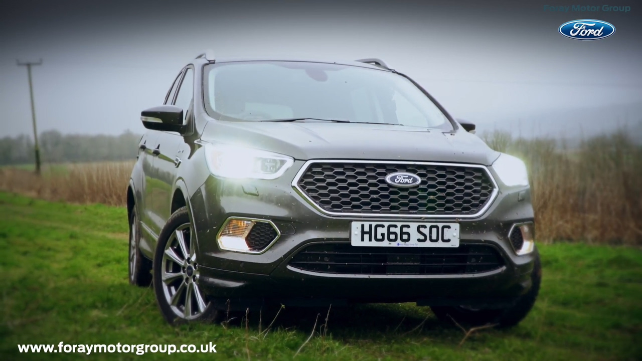 new ford kuga vignale review test drive uk youtube. Black Bedroom Furniture Sets. Home Design Ideas