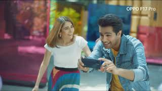 OPPO F17 Pro with Asim Azhar & Syra Yousuf