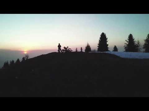 Almaty KokZhailyau e-bike adventure drone and GoPro short overview video 06.04.2018