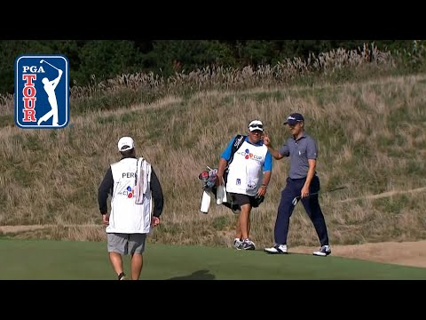 Justin Thomas' solid bunker hole out at THE CJ CUP