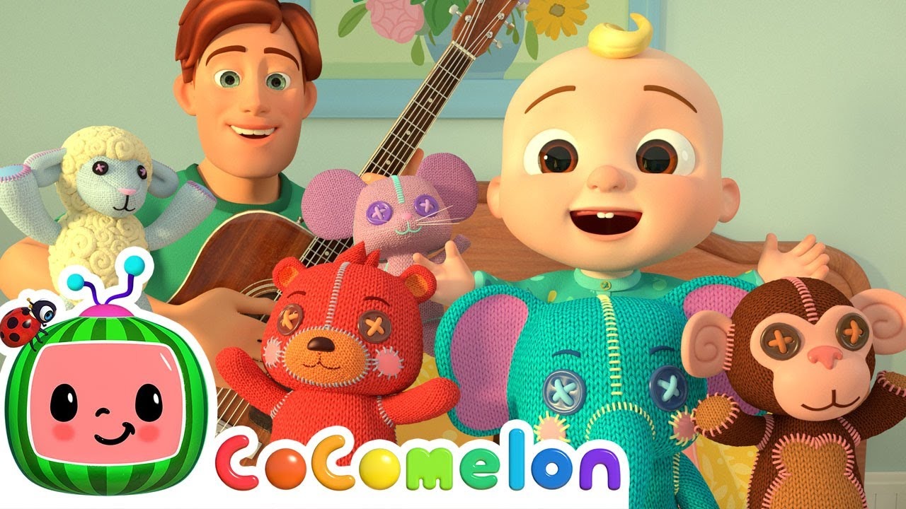 Five Little Animals Song | CoComelon Nursery Rhymes & Kids Songs