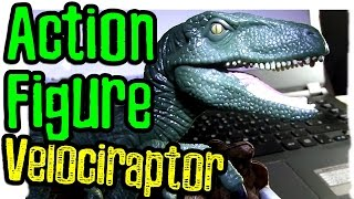 Action Figure - Velociraptor Charlie do Filme Jurassic World - DICA