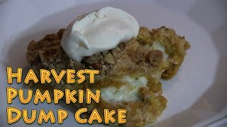 Harvest Pumpkin Dump Cake Easy And Delicious