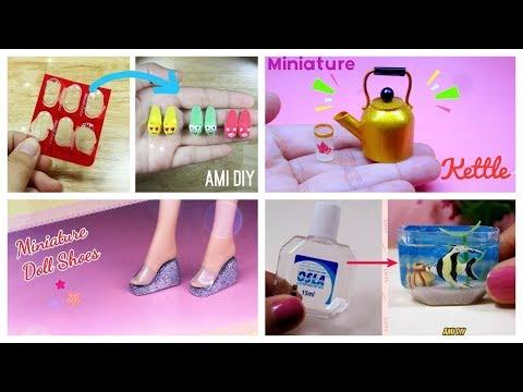 4 DIY Miniatures for Barbie