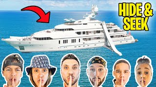 HIDE & SEEK on a 30 Million Dollar YACHT! 😱 | The Royalty Family