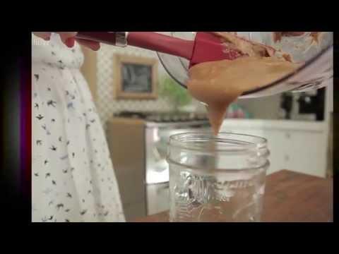 Aprenda a fazer manteiga de amendoim