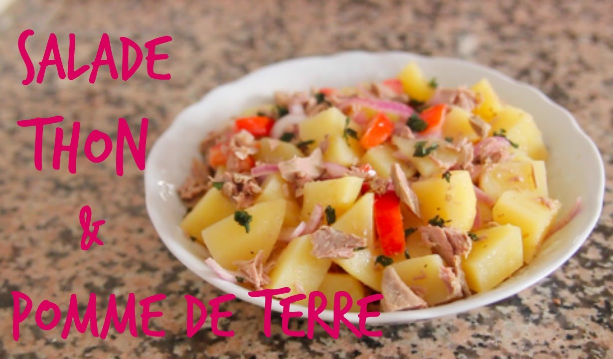 salade de thon et pomme de terre yummy fran ais youtube. Black Bedroom Furniture Sets. Home Design Ideas
