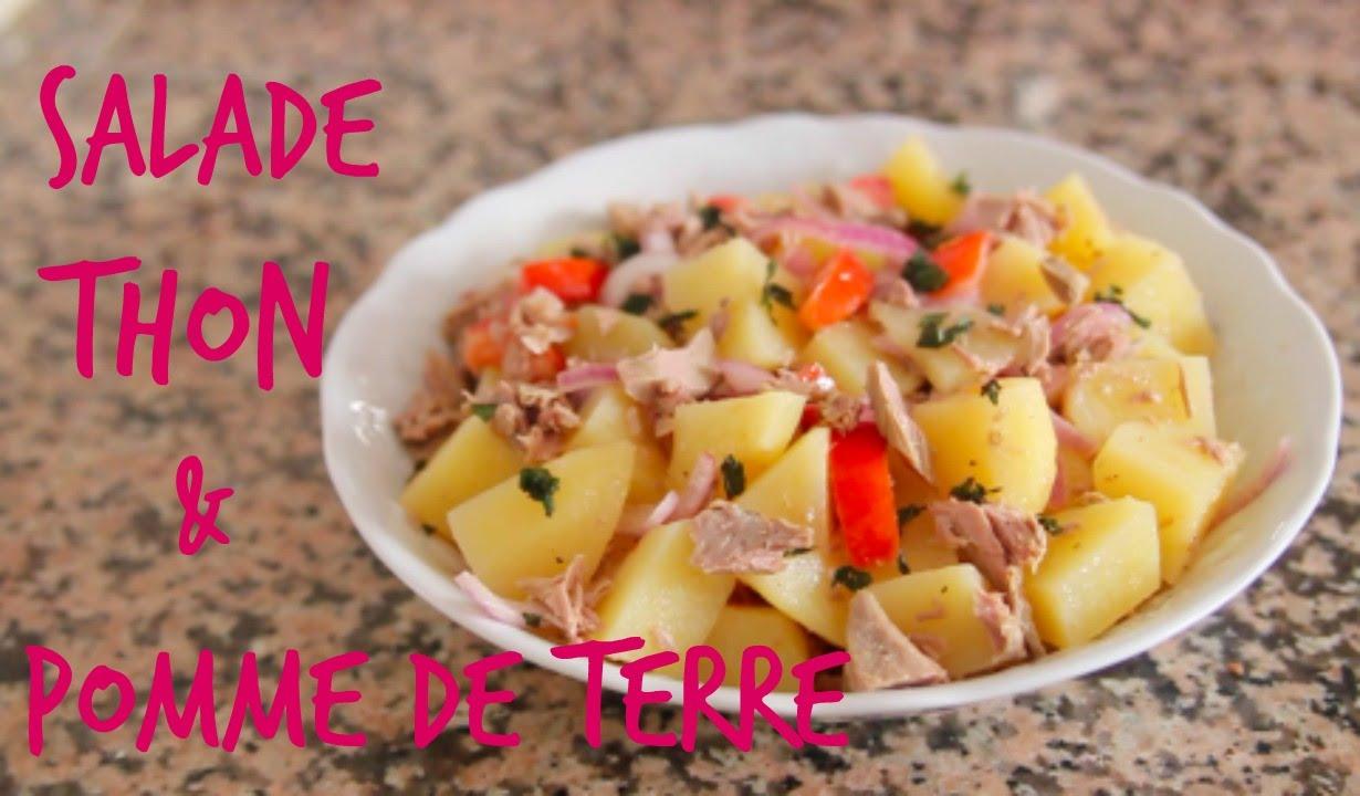 Salade De Thon Et Pomme De Terre Yummy Francais Youtube